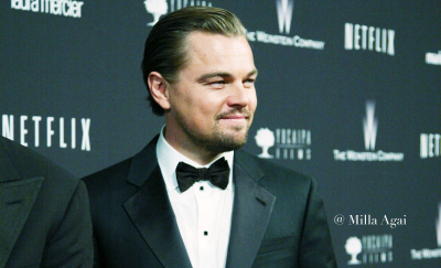 "Leonardo DiCaprio Wins First Oscar, Says ""Climate Change Is Real""."