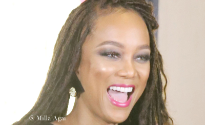 Tyra Banks at Simply Stylist 'Do What You Love' Fashion and Beauty Conference.